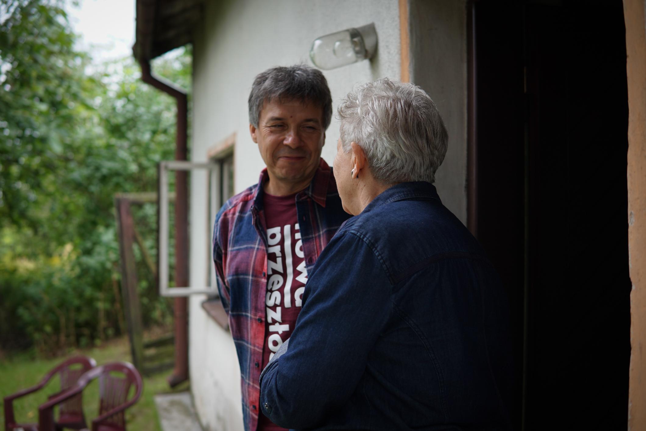 Spotkanie z siostrą Edwarda Stachury Panią Elianą Skórzyńską